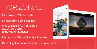 Marena - One Page Vertical / Horizontal Template - 6