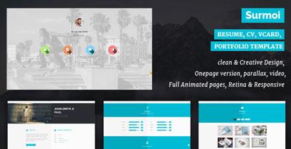 Extended - HTML5 creative Portfolio Template - 1